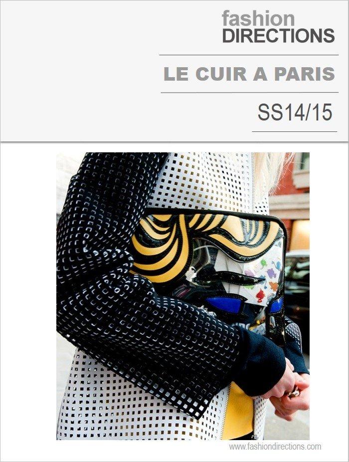 Materiais Destaques Na Le Cuir a Paris SS15