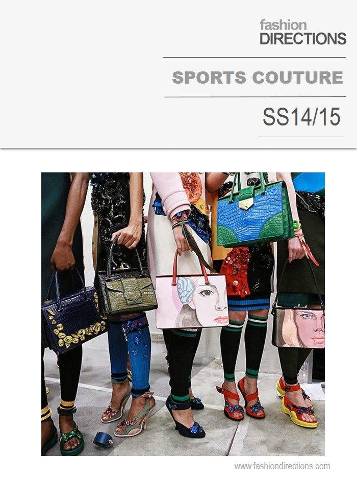 Sports Couture Tendências verão 2014 2015