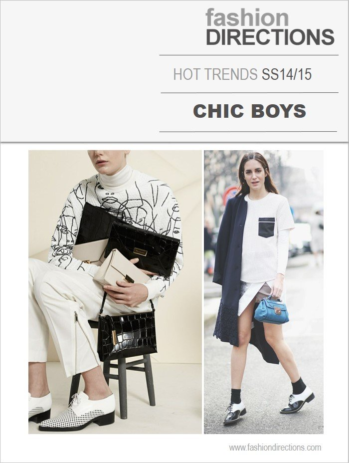15 Chic Ways To Tie A Scarf: SS14/15 Hot Trends: Chic Boys
