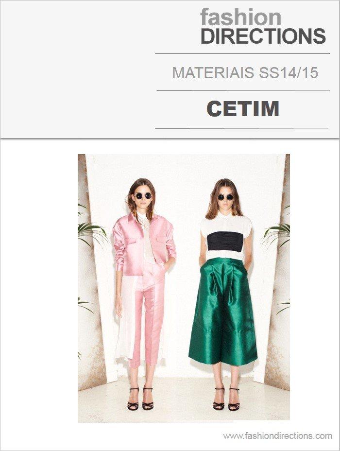 Materiais Verão 14/15: Cetim