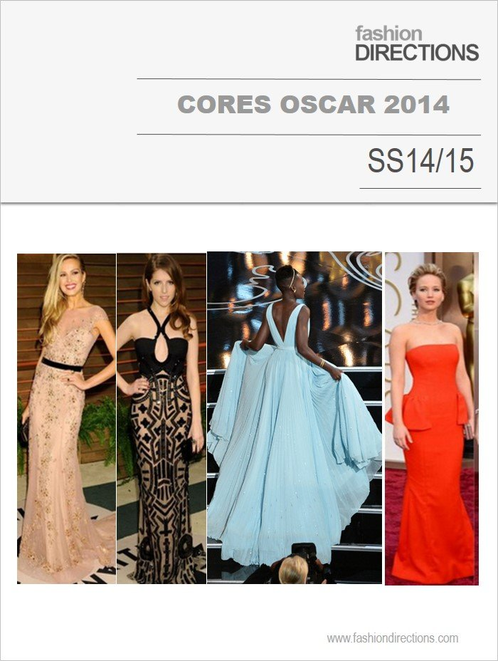 Cores Destaques Oscar 2014