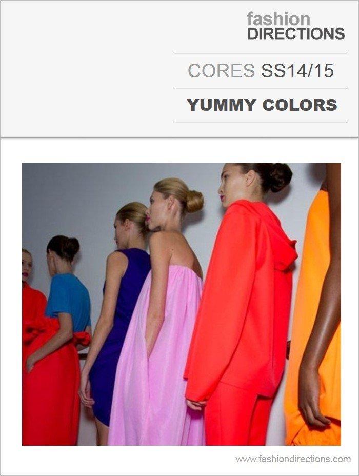 Cores Yummy Colors Verão 14/15