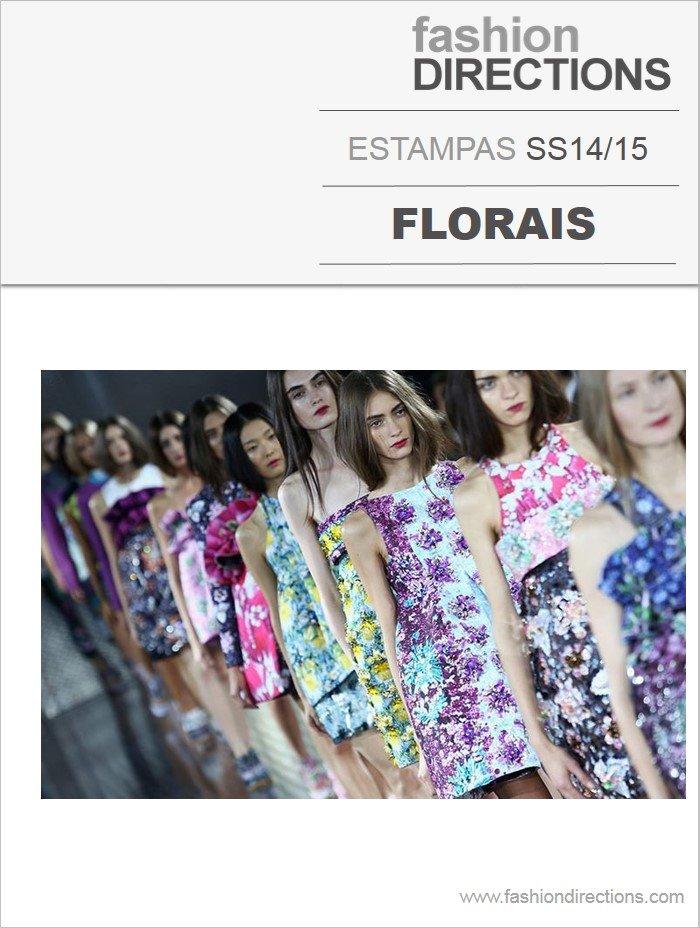 Estampas Florais verão 2014 15