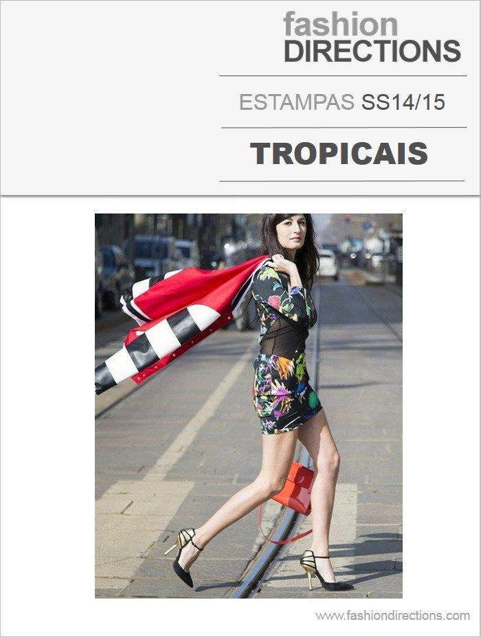 Estampas Tropicais verão 2014 15