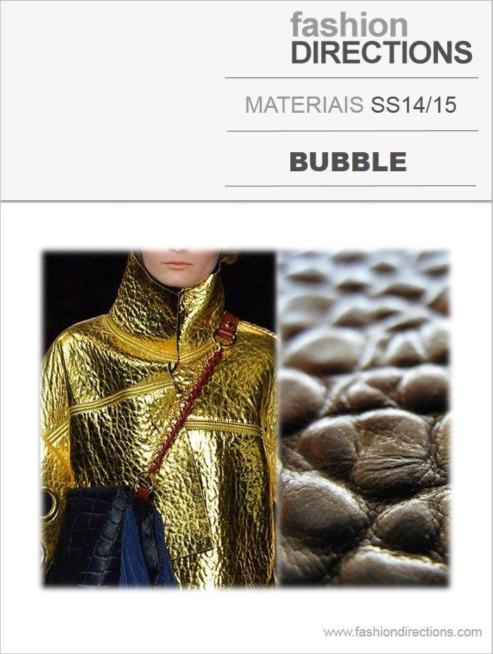 Materiais Verão 14/15: Bubble