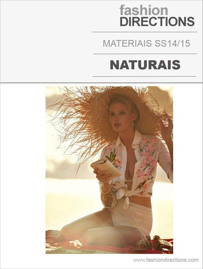 Materiais Verão 14/15: Naturais