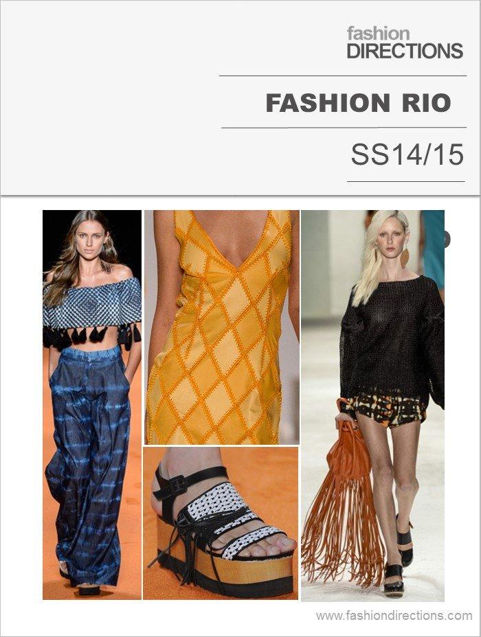 Fashion Rio Verão 2015 Fashion Directions