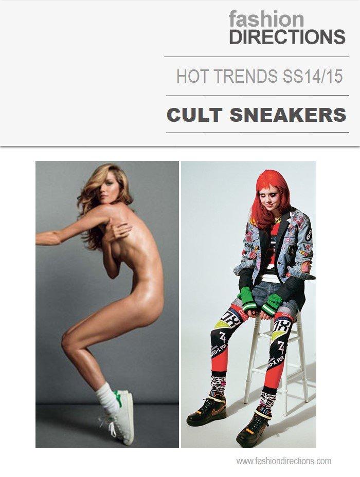 Cult Sneakers tendências verão 2015