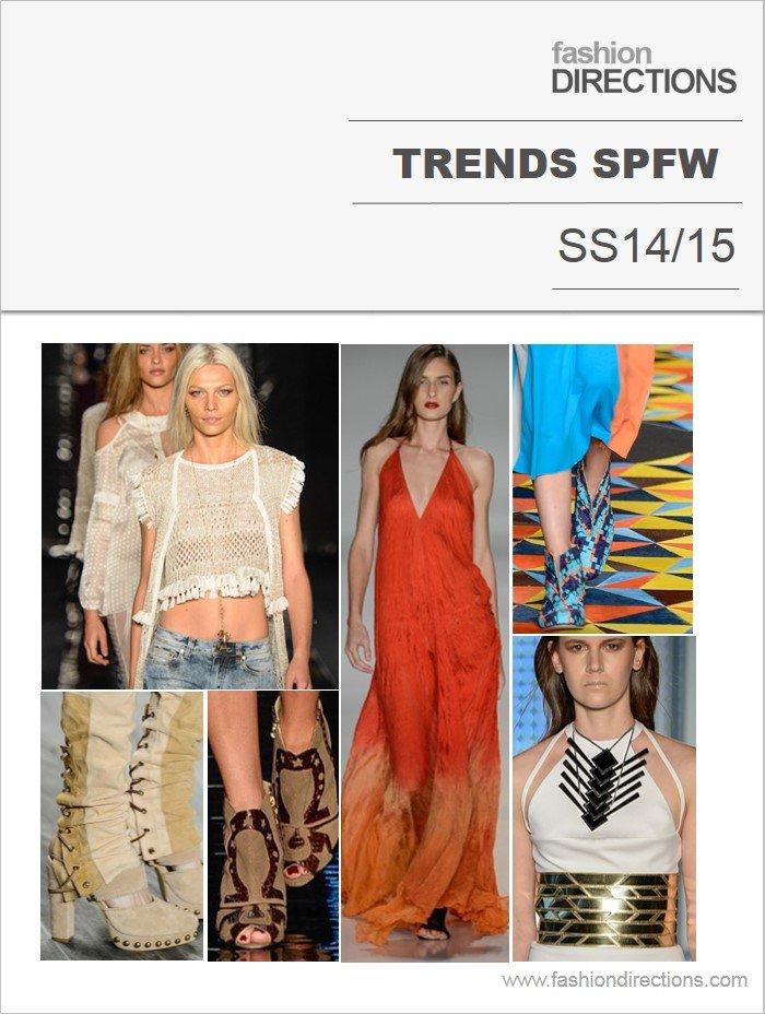 Tendências SPFW verão 2015 Fashion Directions