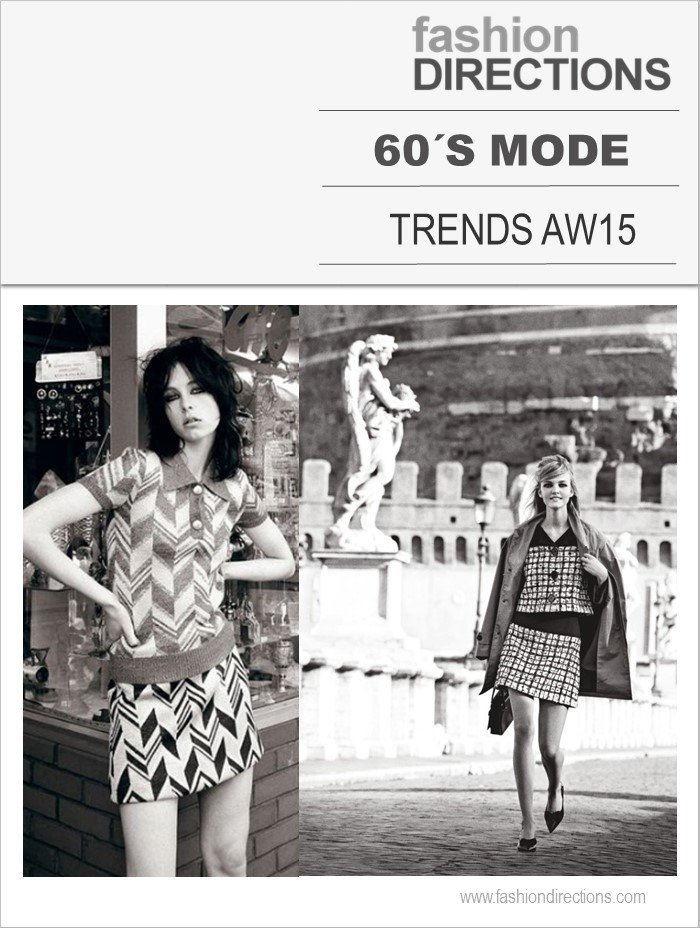 Tendências Inverno 2015: 60's Mode
