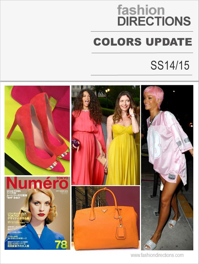 Cores Verão 2015 Fashion Directions