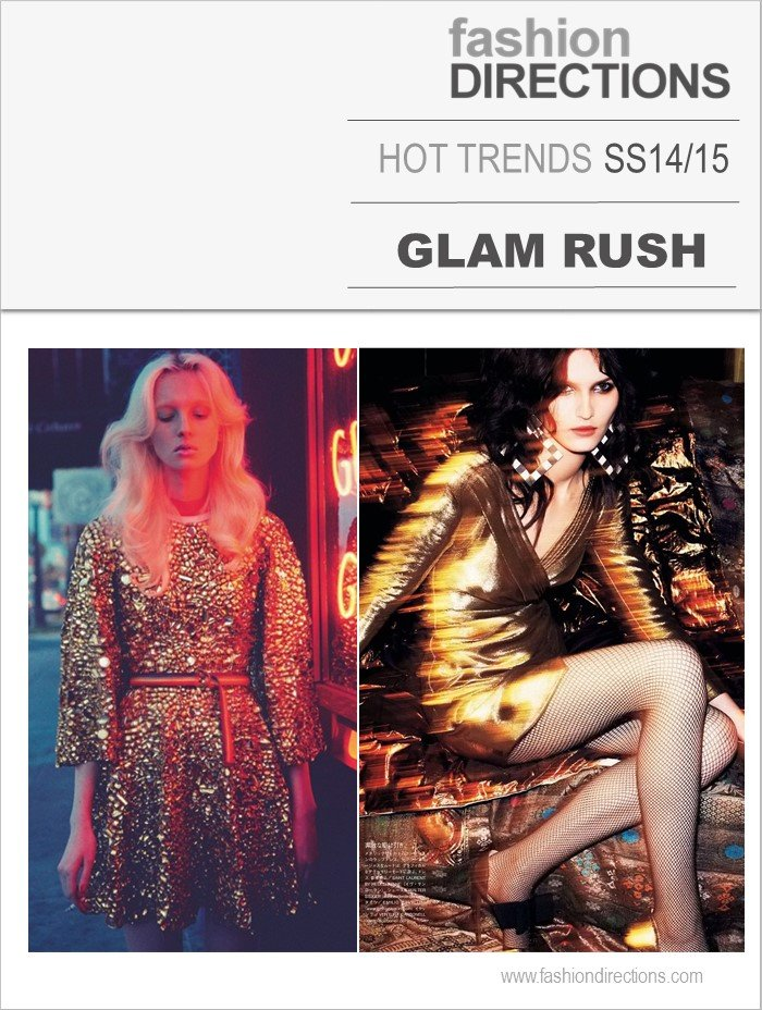 Glam Rush tendências verão 2015 Fashion Directions