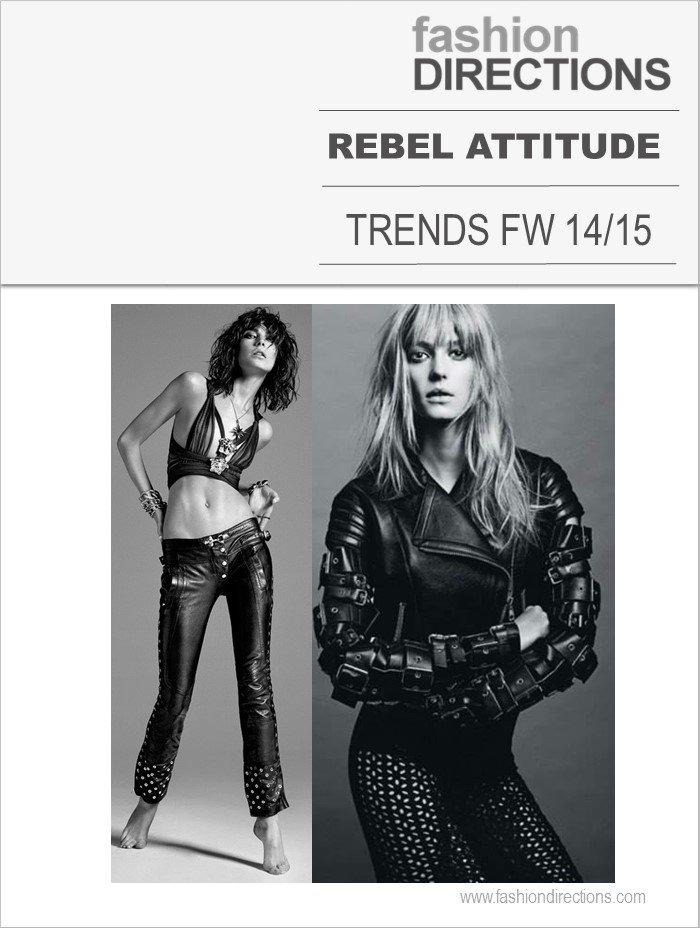 Tendências Inverno 2015: Rebel Attitude