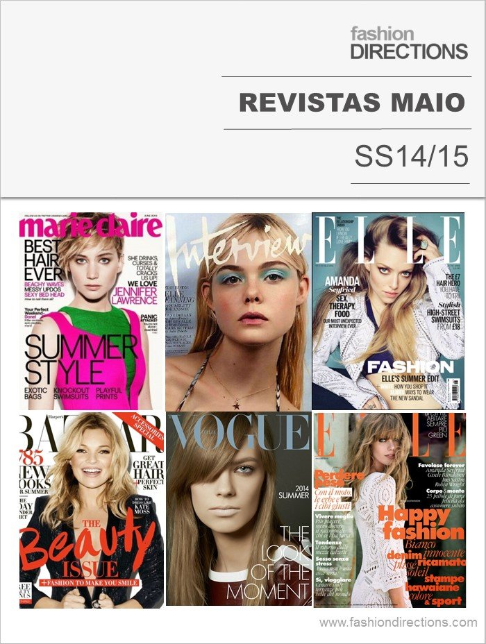 Fashion Magazines May/June 2014