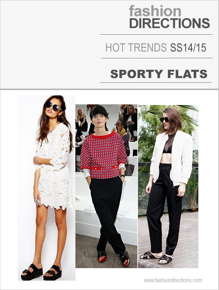 Sporty Flats Hot Trends SS14 Fashion Directions