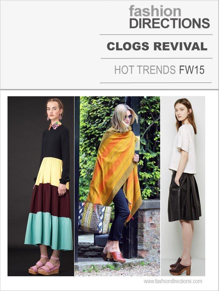 Clogs Tendências Inverno 2015 Fashion Directions
