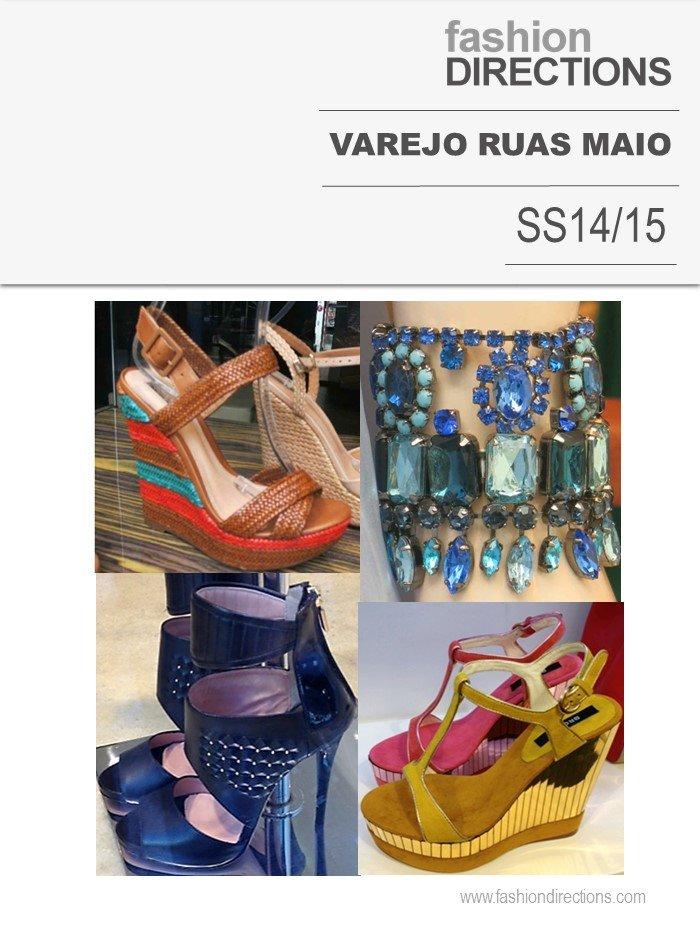 Varejo Internacional Maio Tendências verão 2015 Fashion Directions