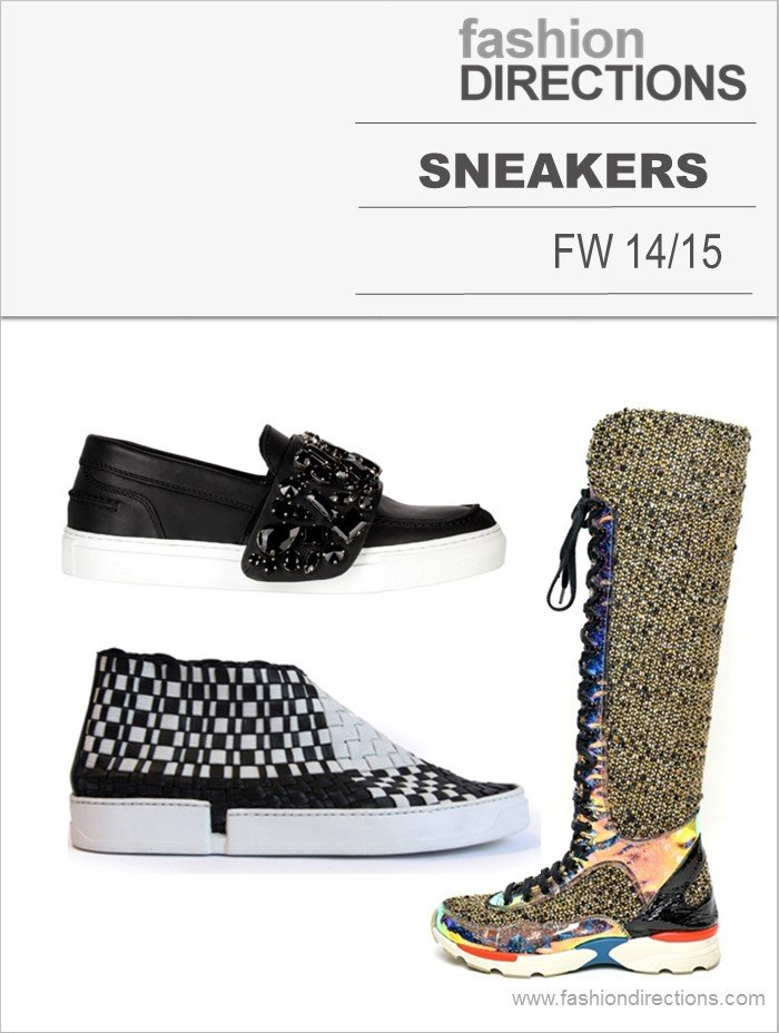 SneakersTendências Inverno 2015 Fashion Directions