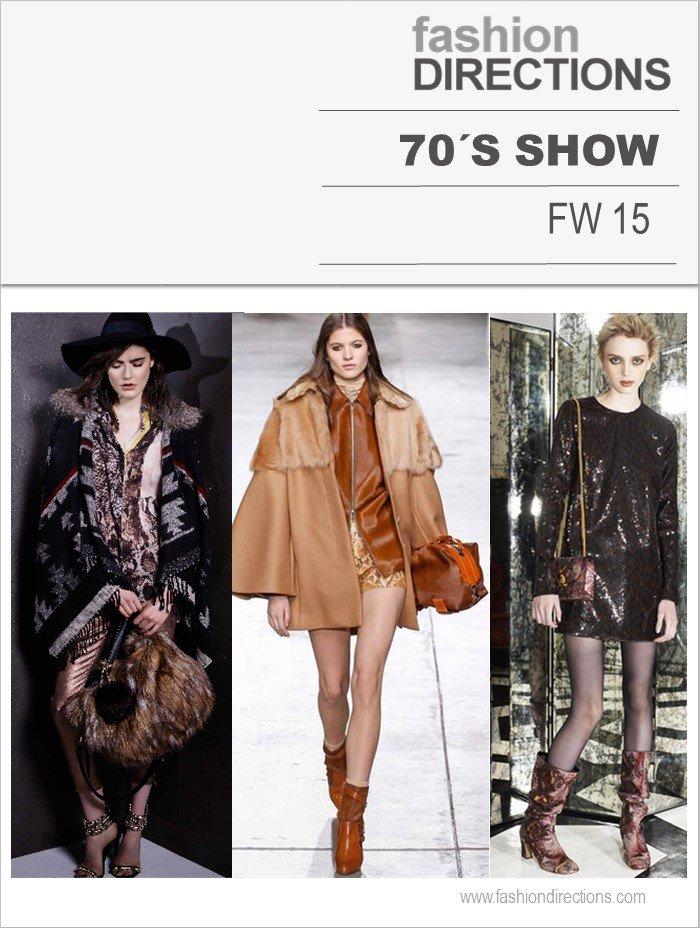 70´s Show Tendências Inverno 2015 Fashion Directions