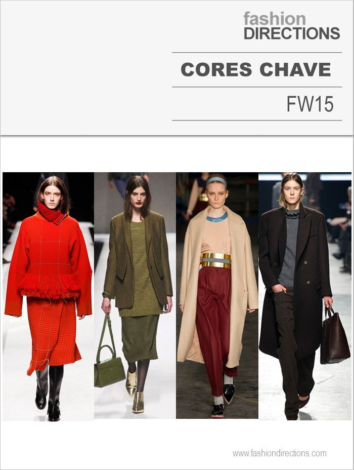 Cores Inverno 2015 Fashion Directions