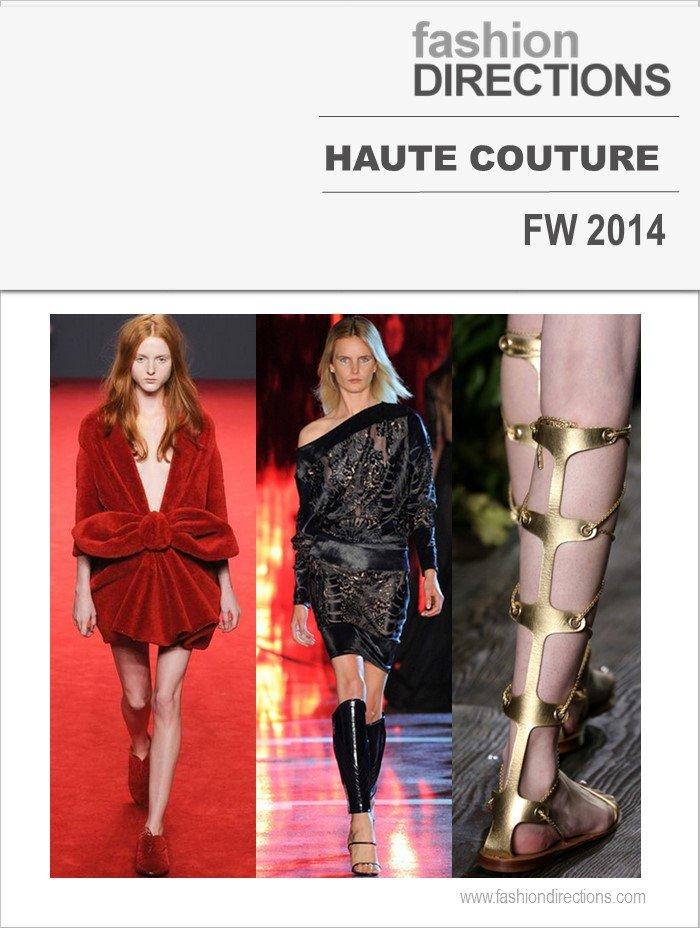 Destaques Haute Couture FW14 Fashion Directions