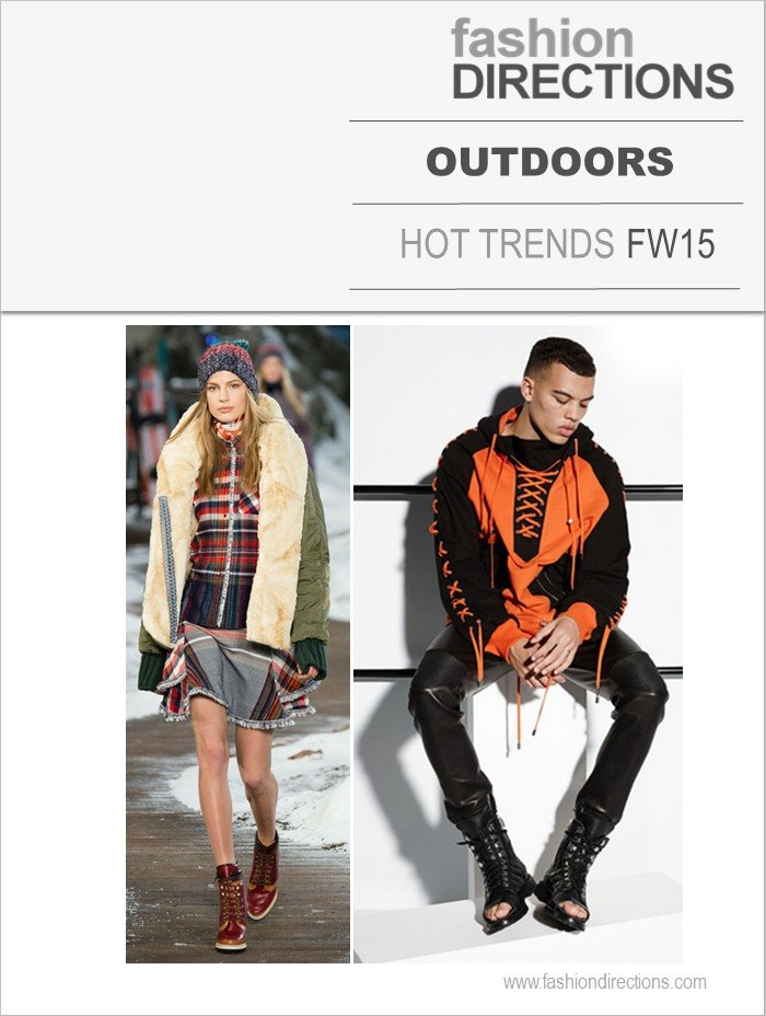 Outdoors Tendências Inverno 2015 Fashion Directions