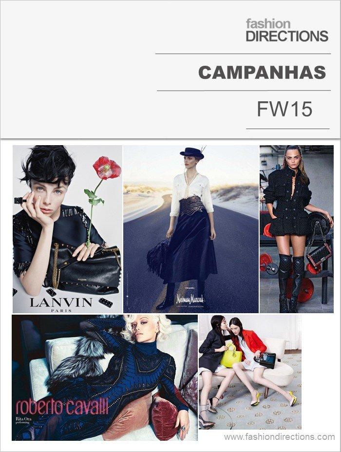 Campanhas Inverno 2015 Fashion Directions