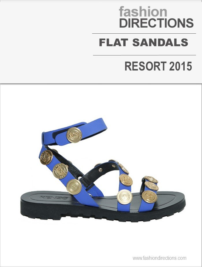 Flat Sandals Resort 2015 Fashion Directions