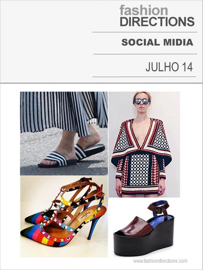 Mídias Socias Julho 2014 Fashion Directions