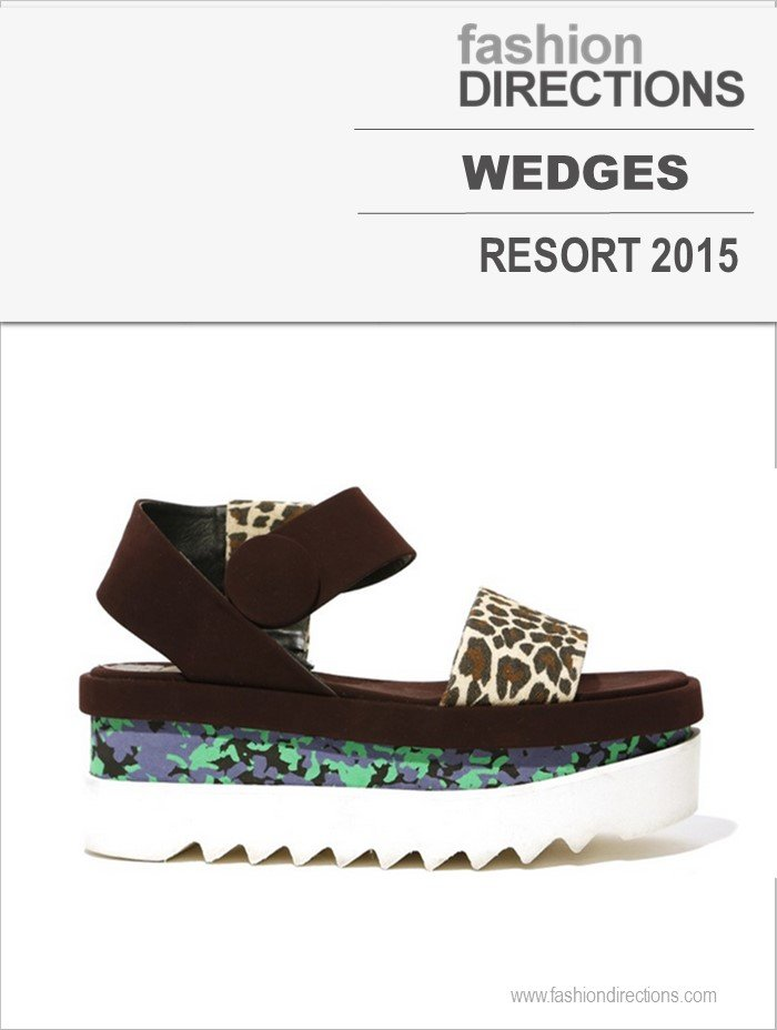Wedges Resort 2015 Fashion Directions