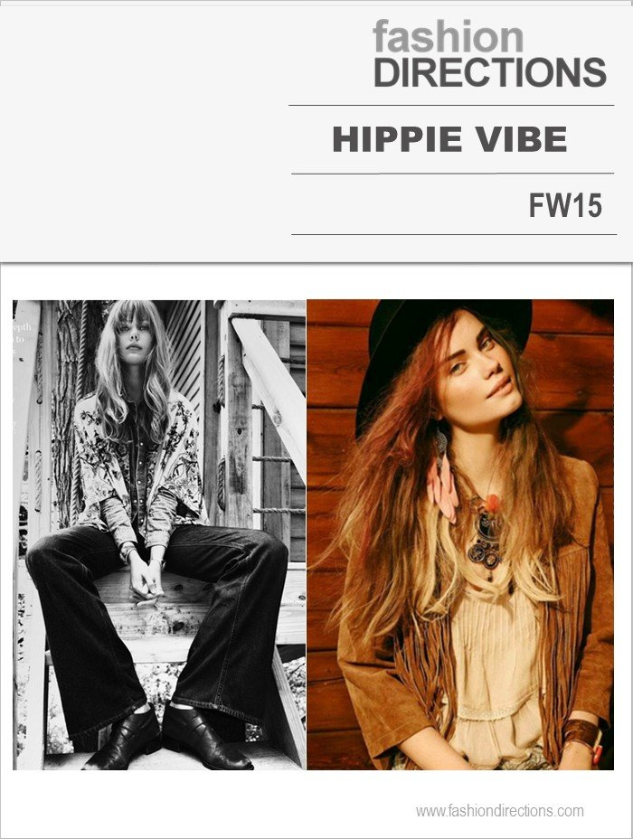 Hippie Vibe Hot Trends FW15 Fashion Directions