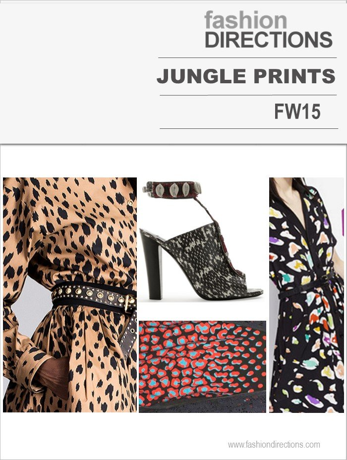 Hot Trends FW15 Jungle Prints