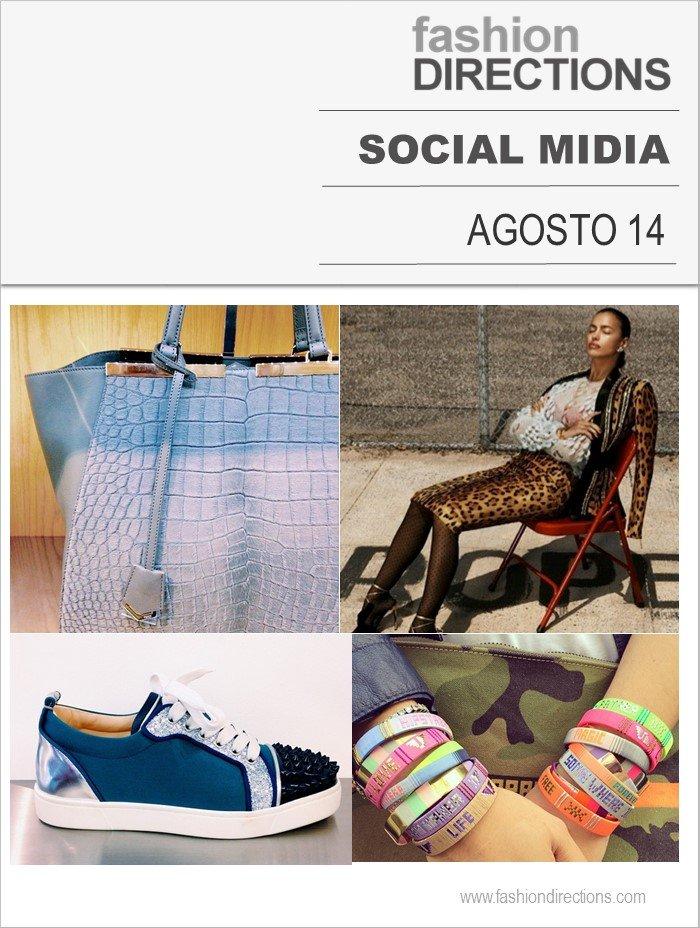 Midia Sociais Agosto 2014 Fashion Directions