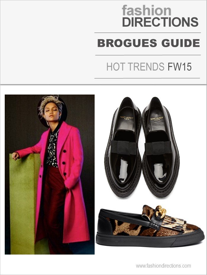 Brogues Hot Trends Inverno 2015