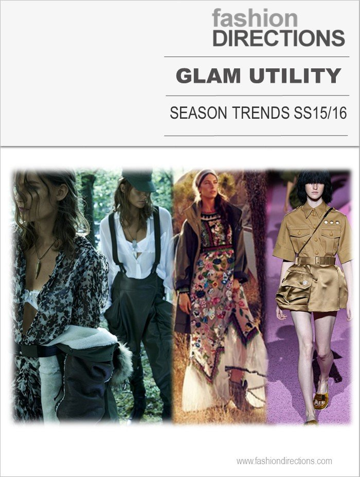 Season Trends SS15: Glam Utility