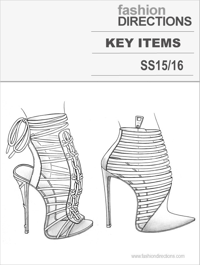 Key Shoes SS15/16 Fashion Directions