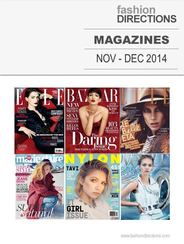 Revistas Novembro 2014 Fashion Directions