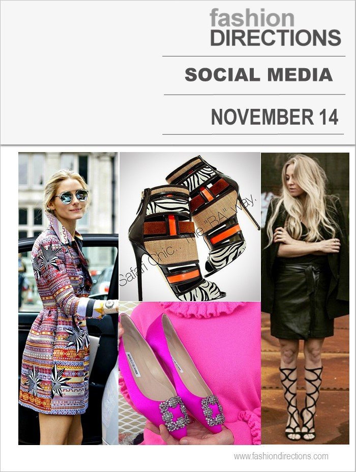 Social Media Nov 2014 Fashion Directions
