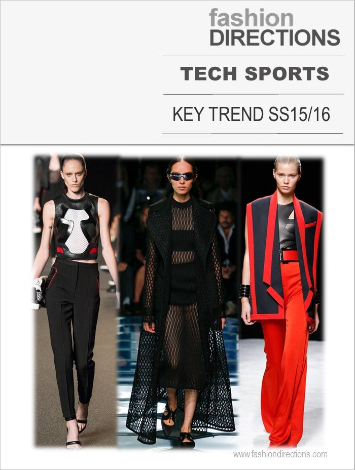 Season Trends SS15: Tech Sports