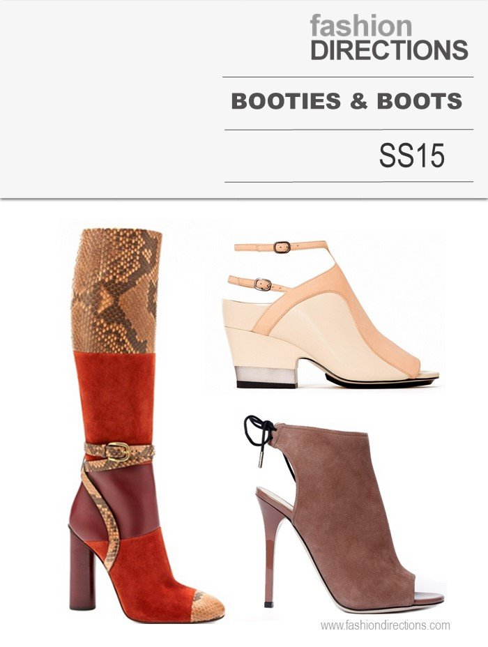 Boots & Booties SS15 Fashion Directions