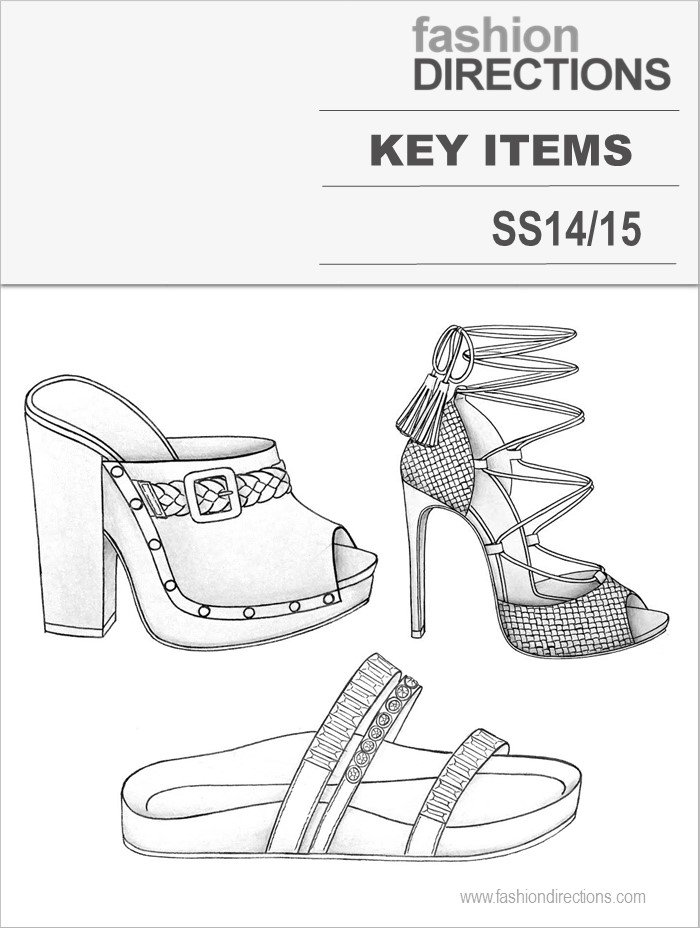 Key Items SS14 Fashion Directions