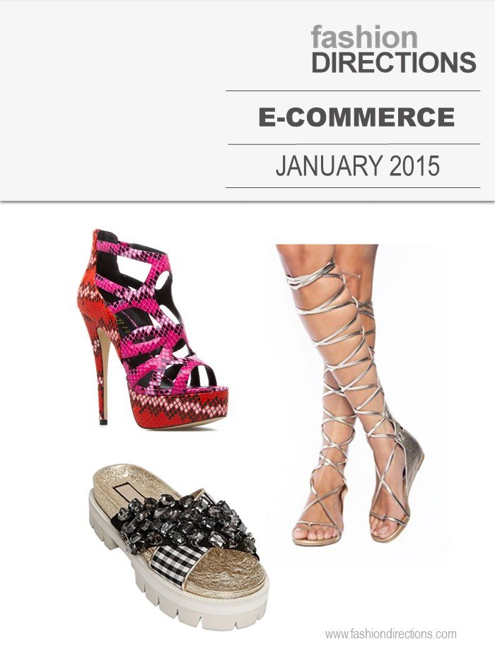 E-commerce January 2015 Fashion Directions