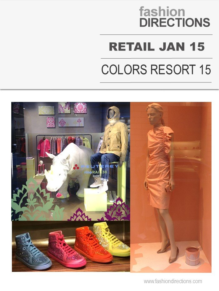 Retail Street Special Colors Resort