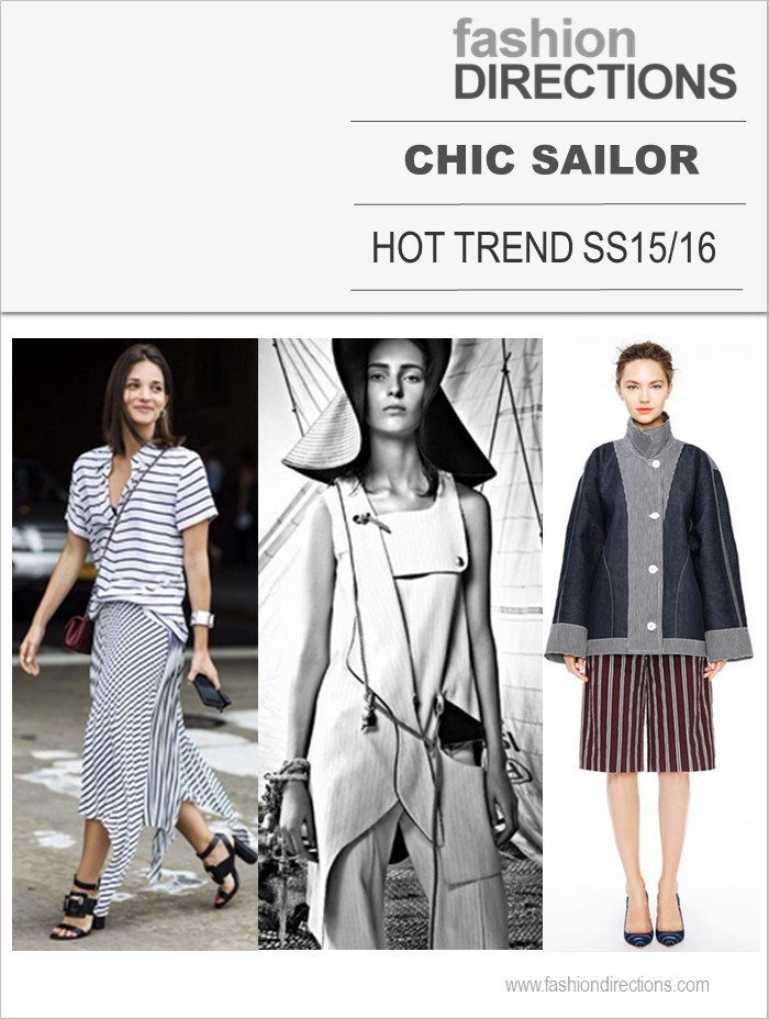 Sailor Chic Hot trend SS15/16