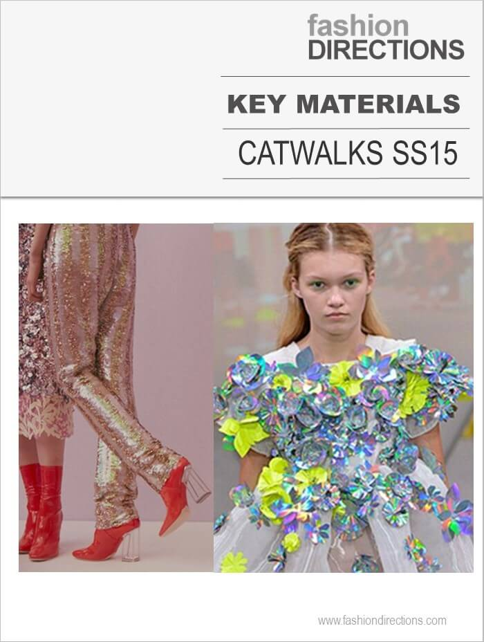 Key Materials Catwalks SS15