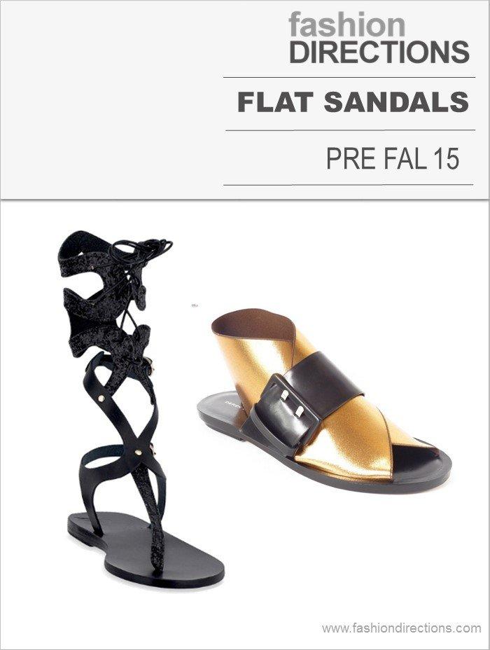 Flat Sandals Pre Fall 15