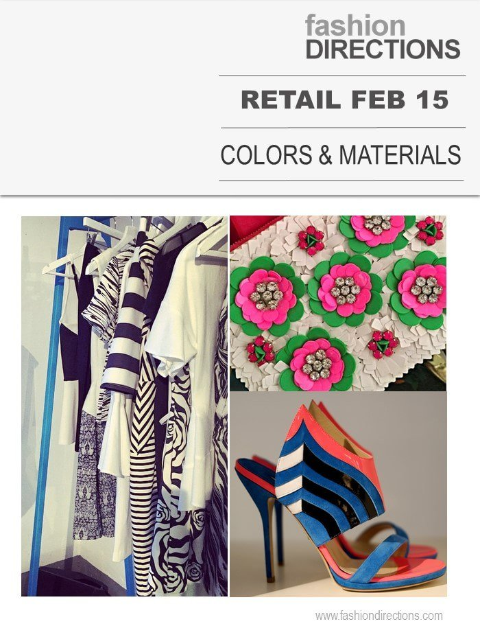 Retail February 2015 Colors & Materials