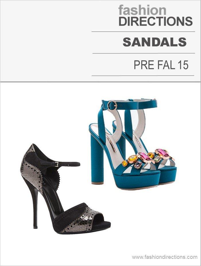 Sandals Pre Fall 15