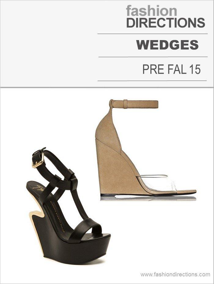 Wedges Pre Fall 15