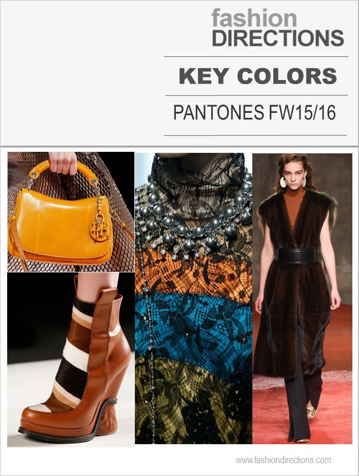 Pantones Key Colors FW15/16